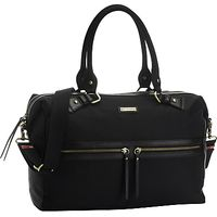 Storksak Caroline Nylon Baby Changing Bag, Black