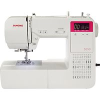 Janome 5050 Sewing Machine, White