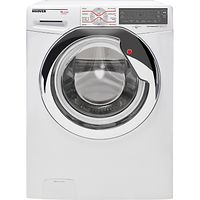Hoover WDXT4106A2 Dynamic Next Luxury Freestanding Washer Dryer, 10kg Wash/6kg Dry Load, A Energy Rating, 1400rpm Spin, White