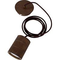 Calex E40 XXL Retro Pendant Cord, Antique Bronze