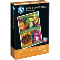 HP A4 Bright White Paper, 500 Sheets