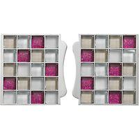 Aqualisa Mosaic Tile Inlays, Pink