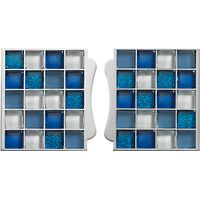 Aqualisa Mosaic Tile Inlays, Blue