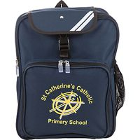 St Catherines Catholic Primary School Backpack, Navy