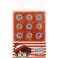 Wheres Wally Push Pin Set