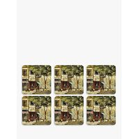 Pimpernel Parisian Scene Coasters, Set of 6