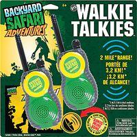 Backyard Safari Adventures Walkie Talkies