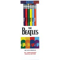 Galison The Beatles 1964 Collection Pencil Set, Pack of 8