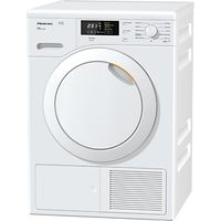 Miele TKB140WP Heat Pump Freestanding Tumble Dryer, 7kg Load, A++ Energy Rating, White