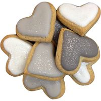 Little Bee Bakery Mini Heart Biscuits X5