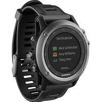 Garmin Fenix 3 GPS Multisport Watch, Grey