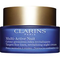 Clarins Multi Active Night Cream, Normal / Combination Skin, 50ml