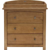 Silver Cross Ashby Dresser, Warm Light Walnut