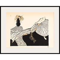 The Courtauld Gallery, Gazette du Bon Ton - No7 1920 Les Quatre Bouquets Framed Giclee Print, 40 x 50cm