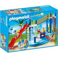 Playmobil Summer Fun Water Park Play Area