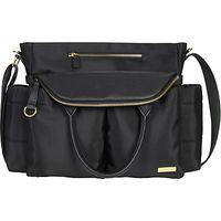 Skip Hop Chelsea Chic Satchel Changing Bag, Black