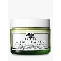 Origins A Perfect World Antioxidant Moisturiser with White Tea, 50ml