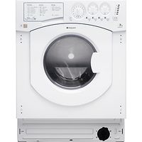 Hotpoint BHWD149 Integrated Washer Dryer, 7kg Wash/5kg Dry Load, B Energy Rating, 1400rpm Spin