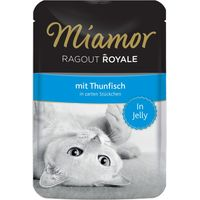 Miamor Ragout Royale in Jelly 22 x 100g - Rabbit