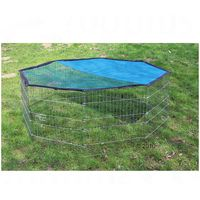 Octagonal Run with Sun Protection - 8 Sided - Nylon base (run not included)