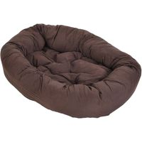 Cosy Mocca Dog Bed - 110 x 95 x 20 cm (L x W x H)
