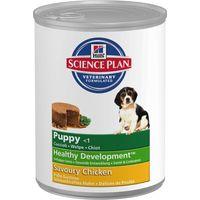 Hills Science Plan Puppy Healthy Development - Chicken - Saver Pack: 12 x 370g