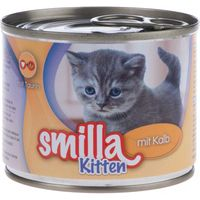 Smilla Kitten 6 x 200g - with Veal