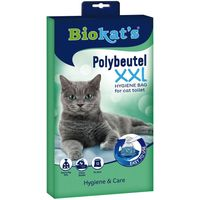 Biokats Polybags for Litter Boxes - Fits up to: 55 x 45 x 12 cm (L x W x H)