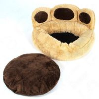 Cozy Little Foot Dog Bed - 55 x 55 x 26 cm (L x W x H)
