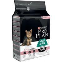 Pro Plan Puppy Small & Mini Sensitive OptiDerma - Salmon - 3kg