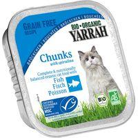 Yarrah Organic Chunks in Gravy 6 x 100g - Fish with Spirulina