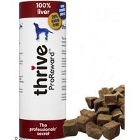 thrive ProReward Liver Dog Treats - Saver Pack: 3 x 60g