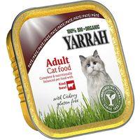Yarrah Organic Tray Saver Pack 12 x 100g - Chunks: Fish with Spirulina