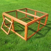 Outback Classic Outdoor Run - 4 Sided - 116 x 109 x 48 cm (L x W x H)