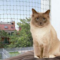 Trixie Bite Resistant Cat Net - Olive - 8 x 3 m