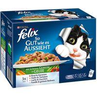Felix As Good As It Looks 12 x 100g - Ocean Feasts in Jelly