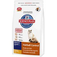 Hills Science Plan Mature Cat 7+ Hairball Control - Chicken - 1.5kg