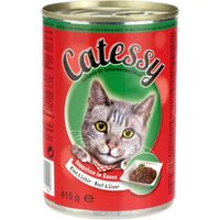 Catessy Bites in Sauce 12 x 415g - Mixed Pack