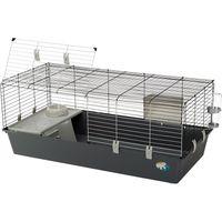 Ferplast Rabbit & Guinea Pig Cage 120 - Grey: 118 x 58.5 x 51.5 cm (L x W x H)