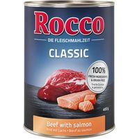 Rocco Classic Saver Pack 12 x 400g - Beef with Chicken