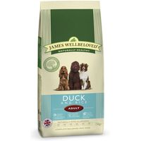 James Wellbeloved Adult - Duck & Rice - Economy Pack: 2 x 15kg