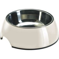Hunter Melamine Dog Bowl - White - 0.16 litre