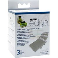 Fluval Edge Carbon Clean and Clear 3 Sachets - 1 item