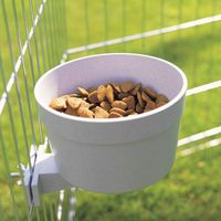 Savic Crock Feeding Dish with Screw Fastening - 0.55 litre