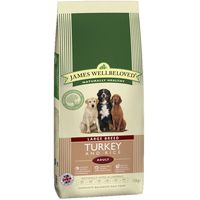 James Wellbeloved Adult Large Breed - Turkey & Rice - 15kg