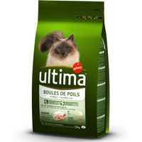 Ultima Hairball Control - Turkey & Rice - 1.5kg