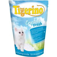 Tigerino Crystals Fresh Clumping Cat Litter - Economy Pack: 3 x 5 litre