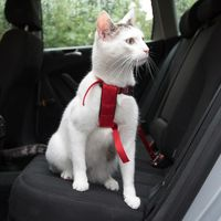 Trixie Cat Car Harness - Red