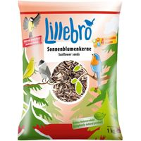 Lillebro Sunflower Seeds for Wild Birds - 1kg