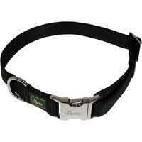 Hunter Vario Basic Alu-Strong Dog Collar - Black - Size L